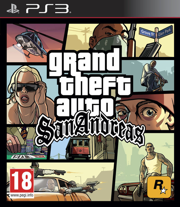 Grand Theft Auto: San Andreas PS3 (käytetty)