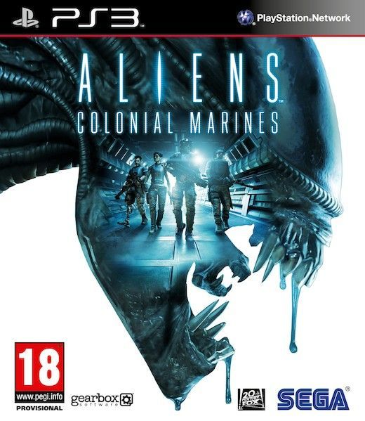 Aliens: Colonial Marines PS3 (käytetty)