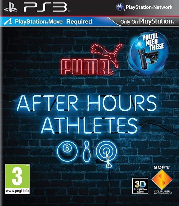 After Hours Athletes (Move) PS3 (käytetty)