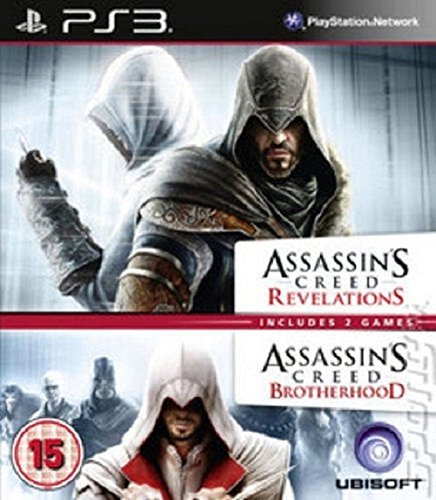 Assassin's Creed Brotherhood & Revelations Double Pack PS3 (käytetty)
