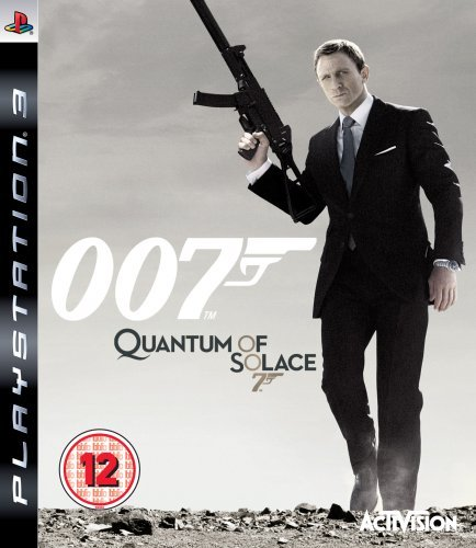007 Quantum of Solace PS3 (käytetty)