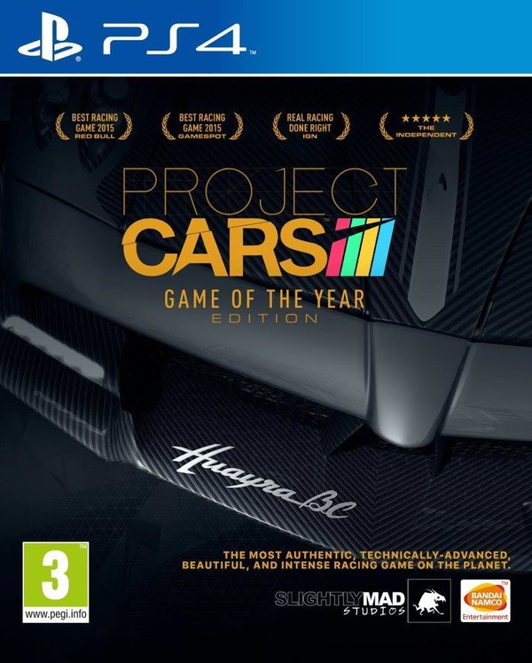 Project CARS - Game of the Year Edition PS4 (käytetty)