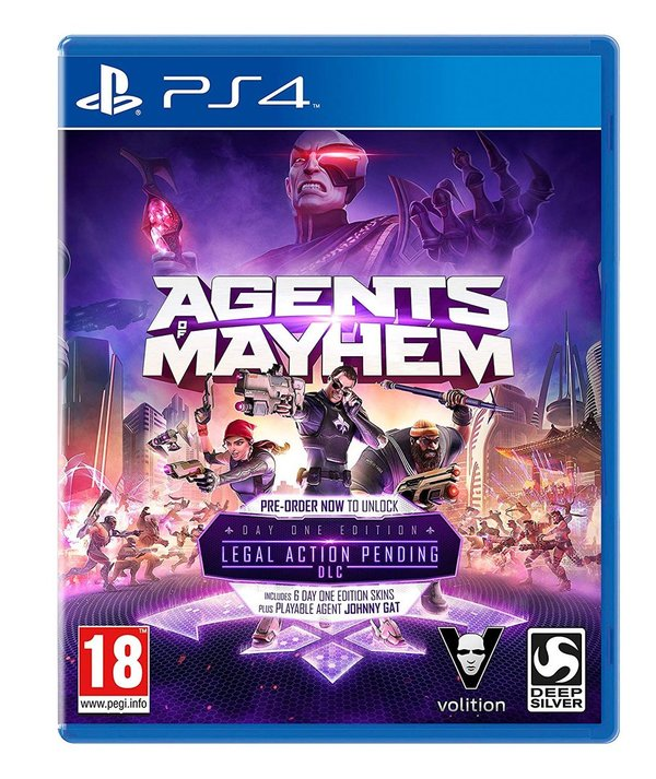 Agents of Mayhem PS4 (käytetty)