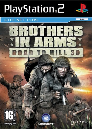 Brothers in Arms Road To Hill 30 PS2 (käytetty) CiB