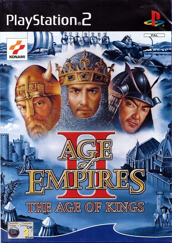 Age of Empires II The Age of Kings PS2 (käytetty) CiB