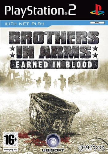 Brothers In Arms Earned In Blood PS2 (käytetty) CiB