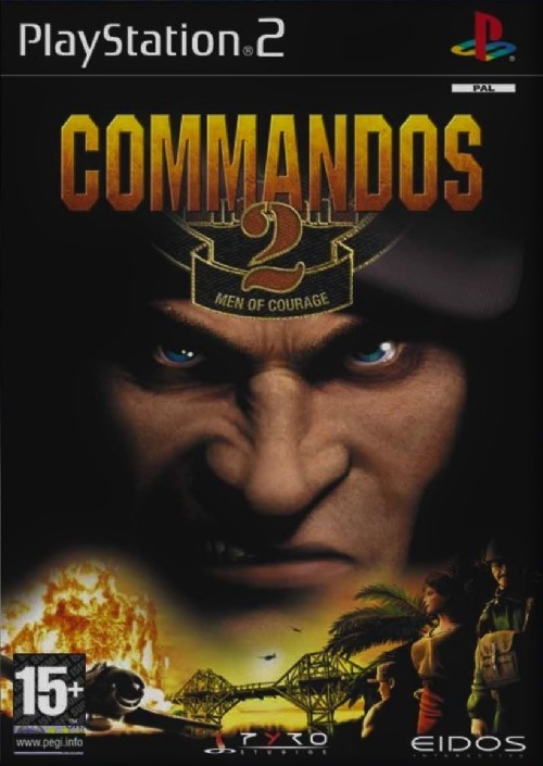 Commandos 2 Men of Courage PS2 (käytetty) CiB