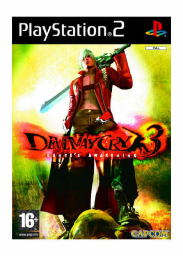 Devil May Cry 3 PS2 (käytetty) CiB