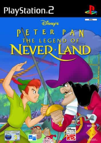 Disney's Peter Pan - The Legend Of Never Land PS2 (käytetty) CiB