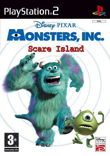 Disney Pixar Monsters Inc Scare Island PS2 (käytetty) CiB