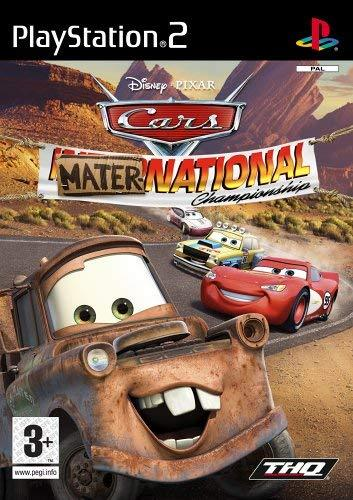 Disney Pixar Cars Mater-National PS2 (käytetty) CiB