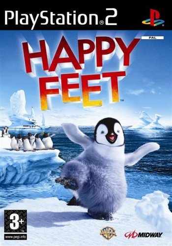 Happy Feet PS2 (käytetty) CiB