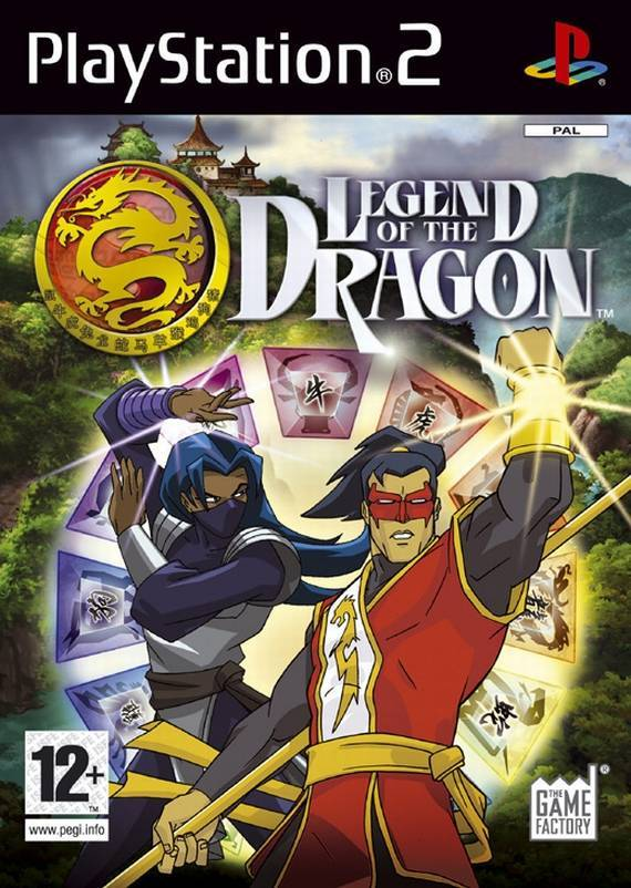 Legend of the Dragon PS2 (käytetty) CiB