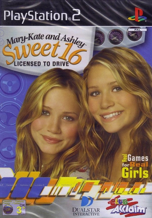 Mary-Kate and Ashley Sweet 16 PS2 (käytetty) CiB