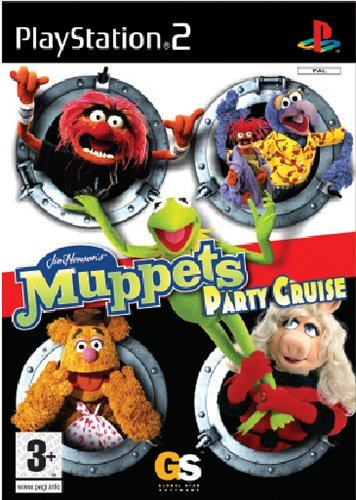 Muppets Party Cruise PS2 (käytetty) CiB