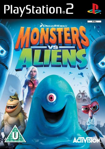 Monsters vs. Aliens PS2 (käytetty) CiB