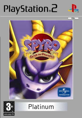 Spyro Enter the Dragonfly Platinum PS2 (käytetty) CiB