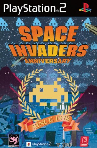 Space Invaders Anniversary PS2 (käytetty) CiB