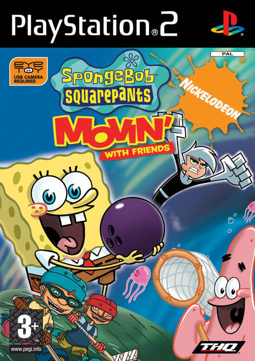 Spongebob Squarepants Movin with Friends PS2 (käytetty) CiB