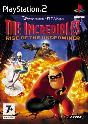 The Incredibles Rise Of The Underminer PS2 (käytetty) CiB