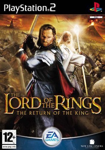 The Lord of the Rings The Return of the King PS2 (käytetty) CiB