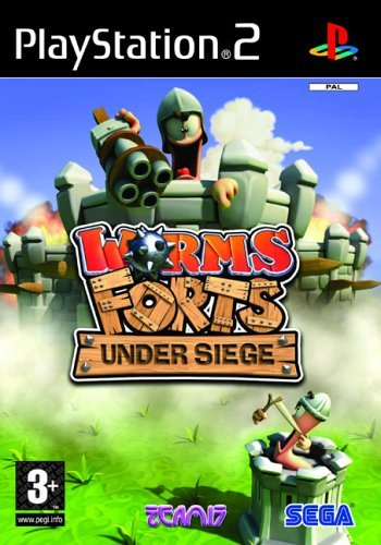 Worms Forts Under Siege PS2 (käytetty) CiB