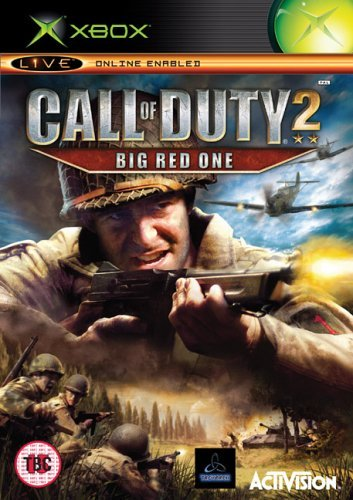 Call of Duty 2 Big Red One Xbox (käytetty) CiB