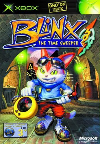 Blinx The Time Sweeper Xbox (käytetty) CiB
