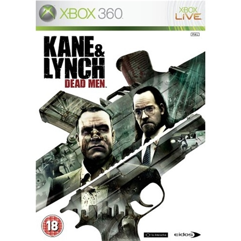 Kane & Lynch Dead Men Xbox 360 (käytetty)