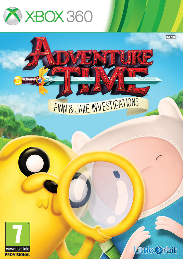 Adventure Time Finn and Jake Investigations Xbox 360 (käytetty)