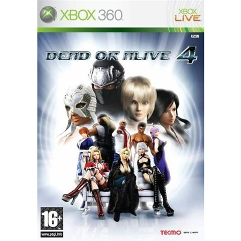 Dead Or Alive 4 Xbox 360 (käytetty)
