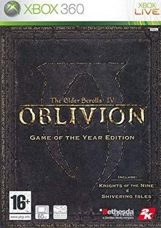 The Elder Scrolls IV Oblivion Game of the Year Edition Xbox 360 (käytetty)