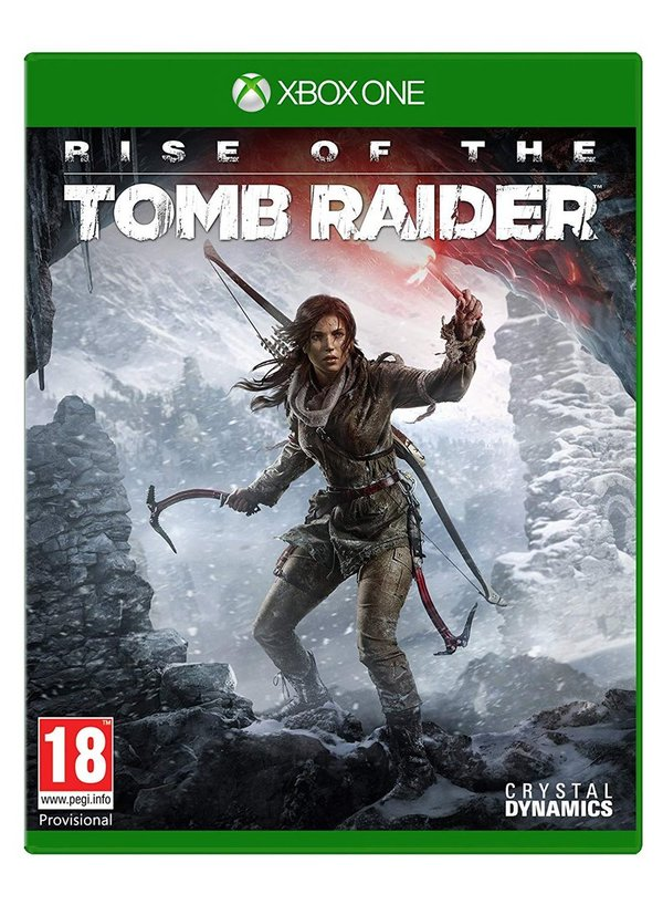 Rise of the Tomb Raider Xbox One (käytetty)