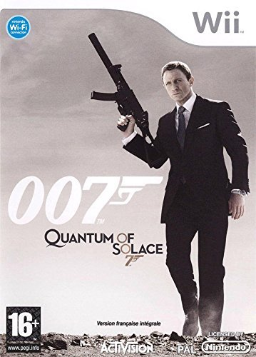 007 Quantum Of Solace Wii (käytetty)