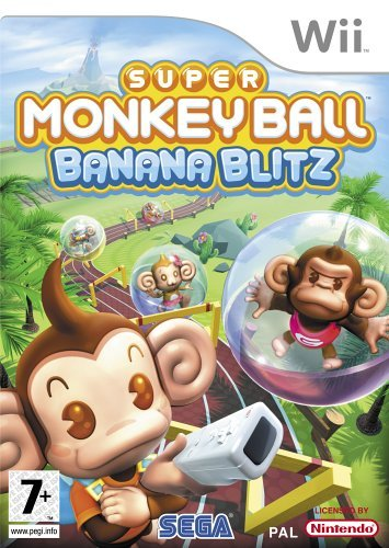 Super Monkey Ball Banana Blitz Wii (käytetty)