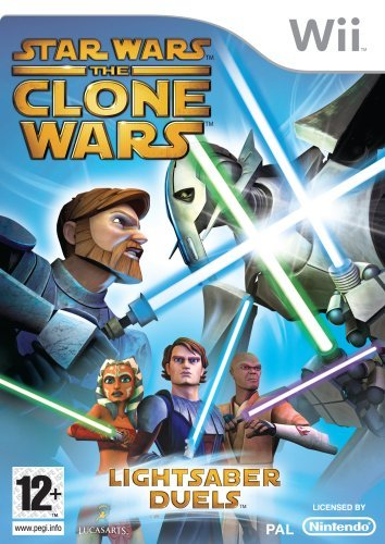 Star Wars The Clone Wars Lightsaber Duels Wii (käytetty)