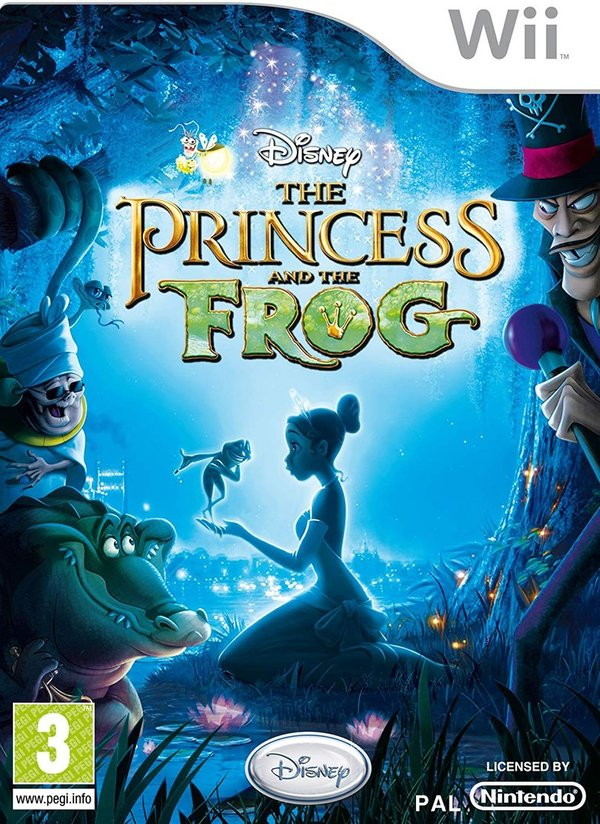 Disney The Princess and the Frog Wii (käytetty)