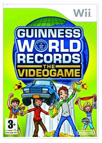 Guinness World Records The Videogame Wii (käytetty)