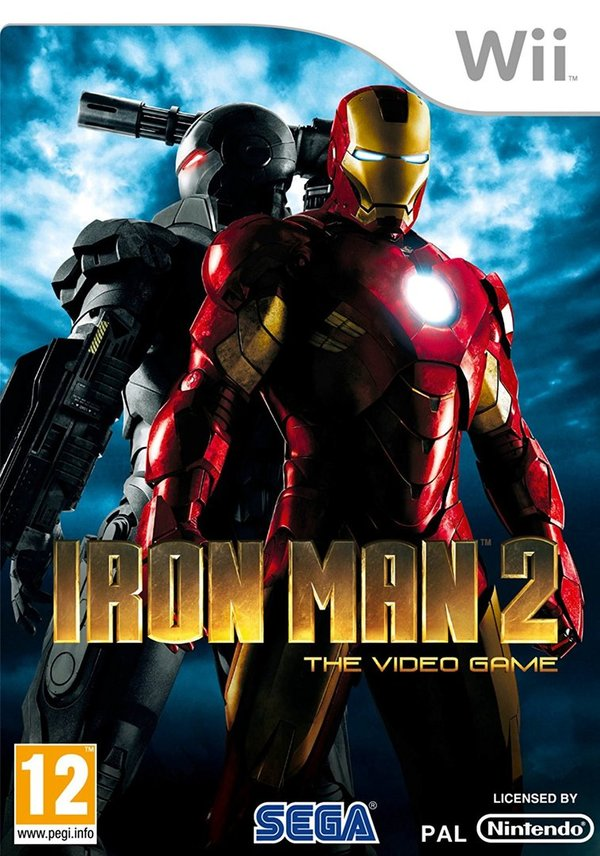 Iron Man 2 The Video Game Wii (käytetty)