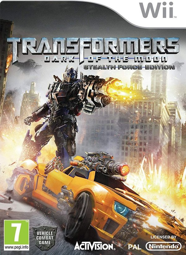 Transformers Dark of the Moon - Stealth Force Edition Wii (käytetty)