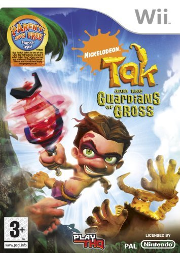 Tak and the Guardians of Gross Wii (käytetty)