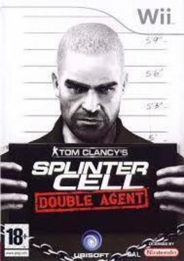 Tom Clancys Splinter Cell Double Agent Wii (käytetty)