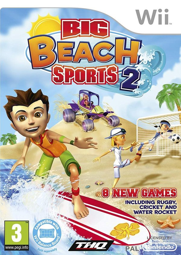 Big Beach Sports 2 Wii (käytetty)
