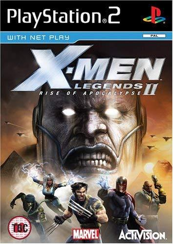 X-Men Legends II Rise of Apocalypse PS2 (käytetty)