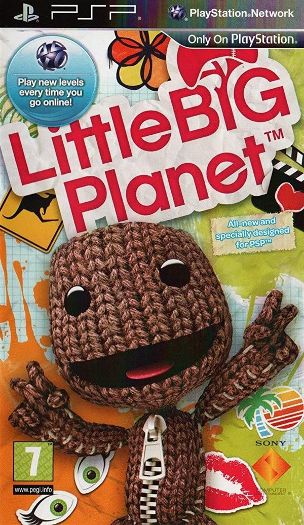 Little Big Planet PSP (käytetty) CiB
