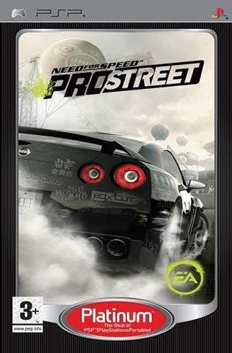 Need For Speed Prostreet Platinum PSP (käytetty) CiB