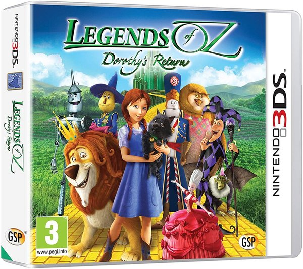 Legends of Oz Dorothy's Return 3DS (käytetty)