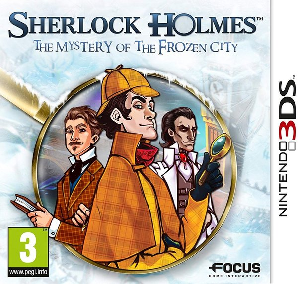 Sherlock Holmes and the Mystery of the Frozen City 3DS (käytetty)
