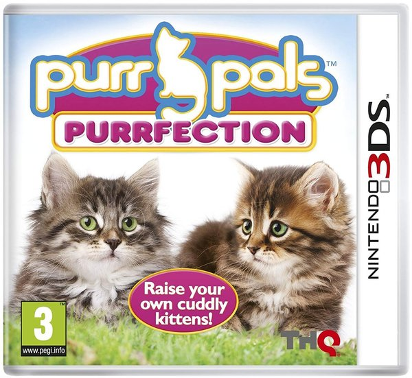 Purr Pals Purrfection 3DS (käytetty)