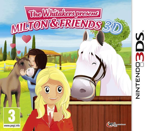 Riding Stables The Whitakers present Milton and Friends 3DS (käytetty)